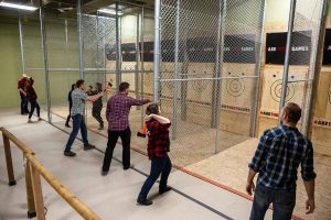 Axe Throwing Omaha Lanes