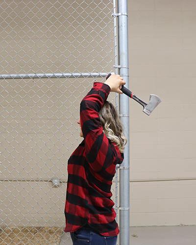 How to throw an axe part 3: Take the Axe back